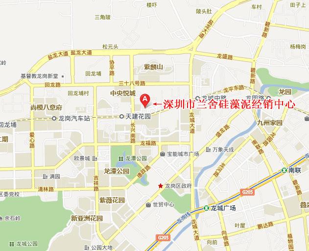 宝安店地图